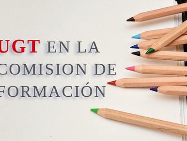 UGT EN LA COMISION DE FORMACIÓN