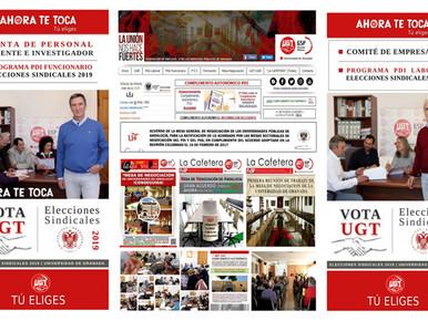 🔴 UGT | UGR INFORMA: CANDIDATURA Y PROGRAMA EXTENSO DE UGT