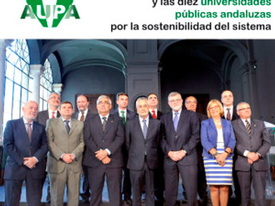 Griñán preside la firma de un Acuerdo entre la Junta y las diez universidades públicas andaluzas por