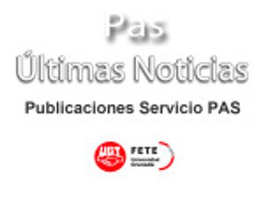Publicaciones Servicio PAS (UGR)
