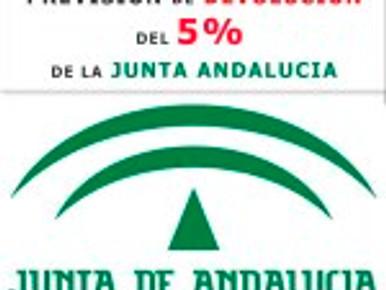 PREVISIÓN DE DEVOLUCIÓN DEL 5% DE LA JUNTA ANDALUCIA