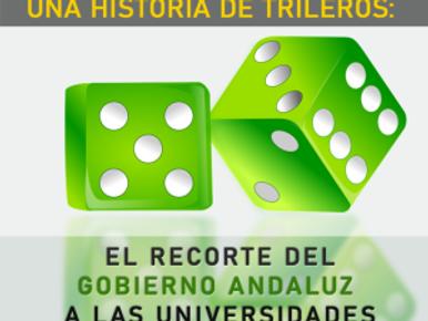 🔴 UNA HISTORIA DE TRILEROS: EL RECORTE DEL GOBIERNO ANDALUZ A LAS UNIVERSIDADES