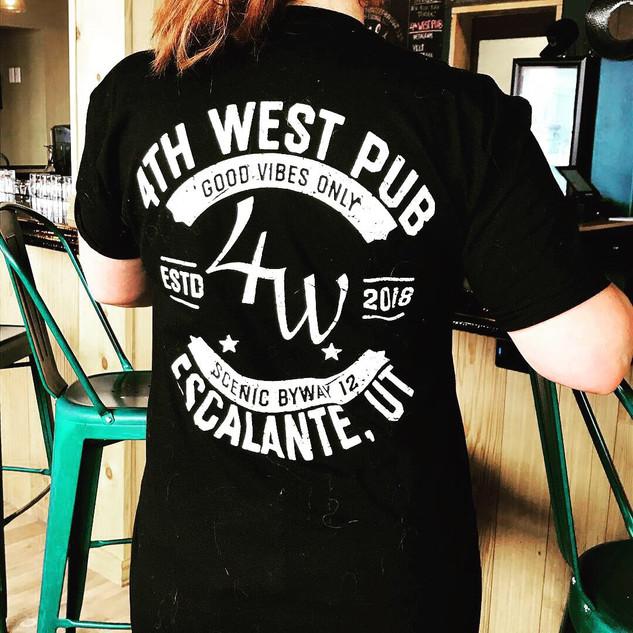 4th West Pub T-Shirt