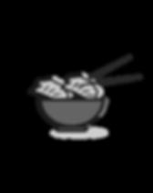 Lisa's Dumplings logo BW.png