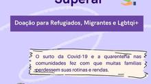 Ajude o Instituto Mana a ajudar a população de refugiados, migrantes e LGBTQI+!