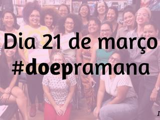 Apoie o Feminismo na Amazônia - #doepramana