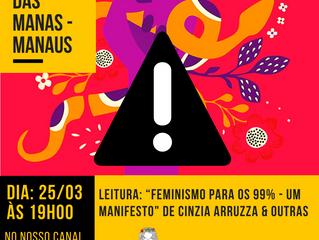 COVID - 19 E ALTERAÇÕES NO CLUBE DAS MANAS