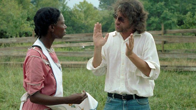 Whoopi e Spielberg