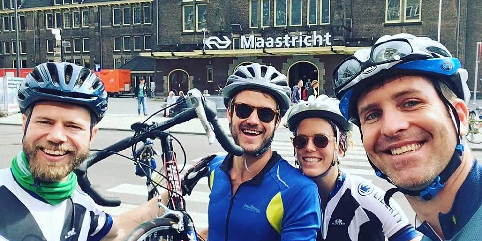 City Alps Training weekend for Amstel Gold Cycle Race