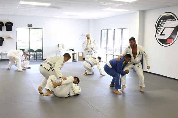 Adult jiu-jitsu classes for all ages and abilities.