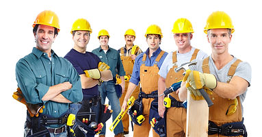 Group of construction workers. General Construction Induction training or White Card or Red Card is required for all persons involved on the construction sites in Melbourne VIC