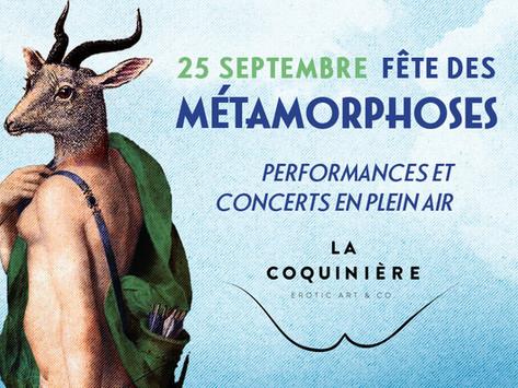 25 Septembre 2021 : Fête des Métamorphoses