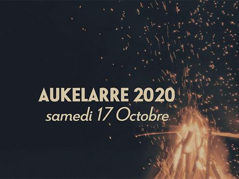 17 Octobre 2020 : Aukelarre - fête de la noisette