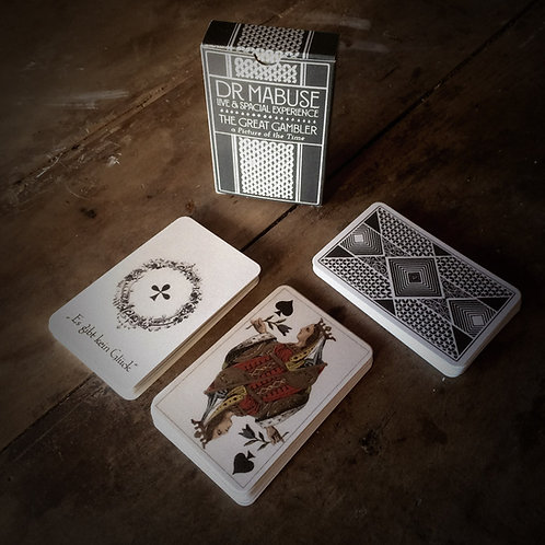 1920's playing cards + digital double album