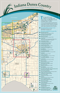 Porter County Tear-off Map