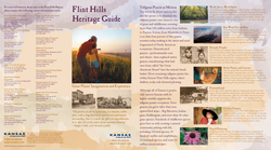 Pages from Flint Hills Heritage Guide