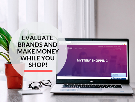 How to be a Mystery Shopper?