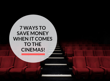 7 ways to Save Money at the Cinemas!
