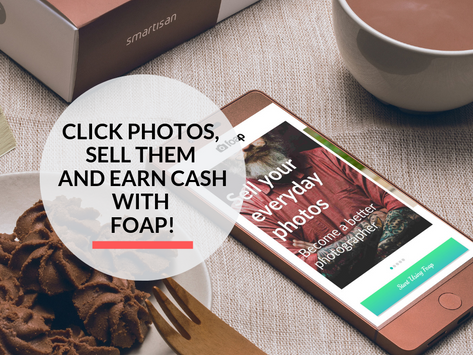 Make Money selling your Photos Online with Foap!