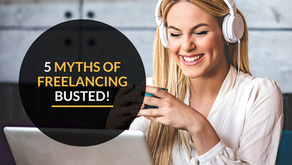5 myths of freelancing busted!