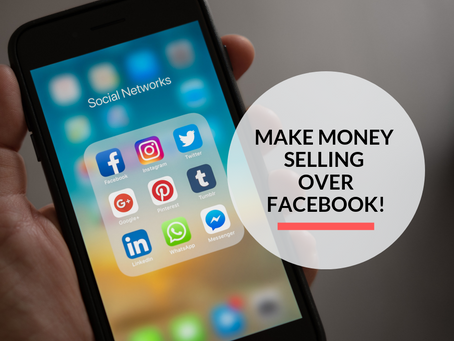 How to make 1000's selling over Facebook!