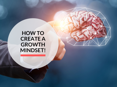 How to create a growth mindset!