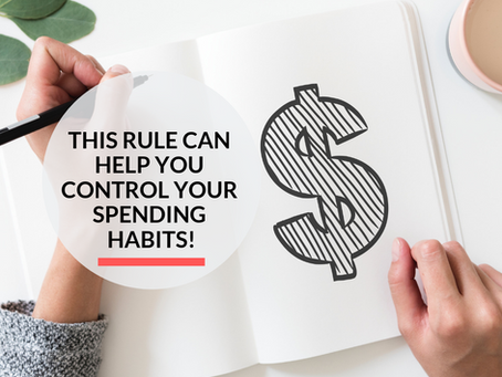 Implement the 30 day rule to control your Spending Habits!
