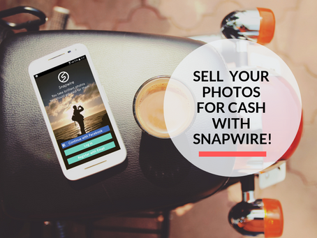 Sell your photos on your smartphone with Snapwire!