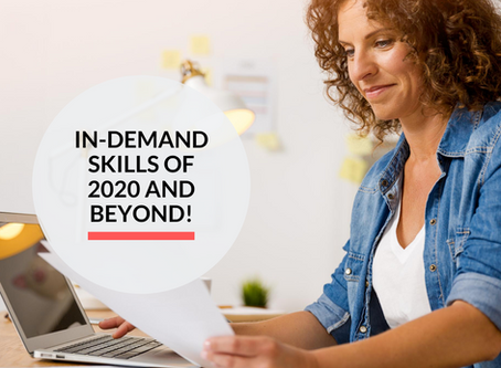 16 In-Demand skills of 2020 and beyond!