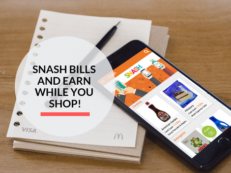 Snash your Grocery Bills and earn Cash!