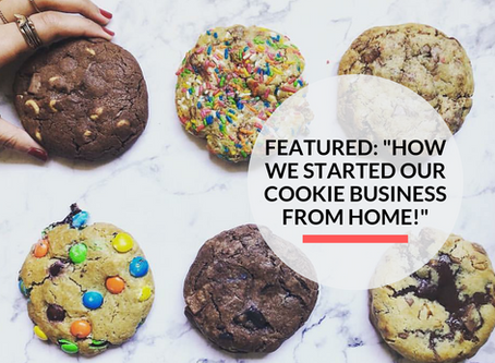 """Featured: """"Pretty Baked Dubai with their gooey Quarter Pound Cookies!"""""""