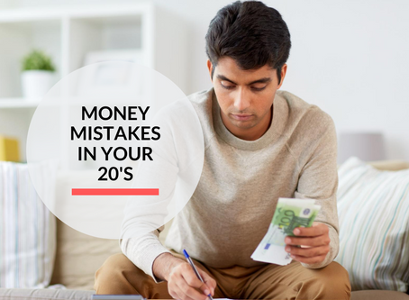 Money mistakes in your 20's