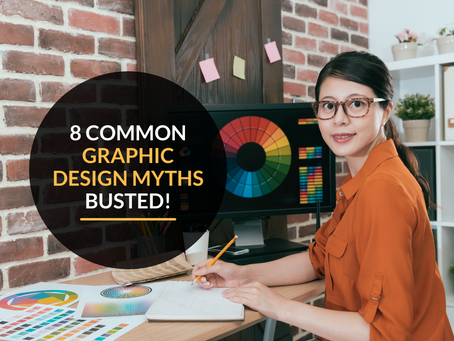 8 common graphic design myths busted!