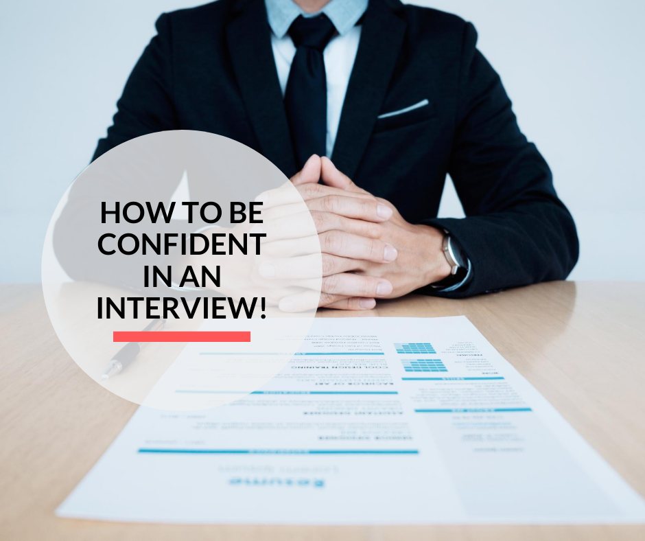 Interviewer ready to interview candidates in the office.