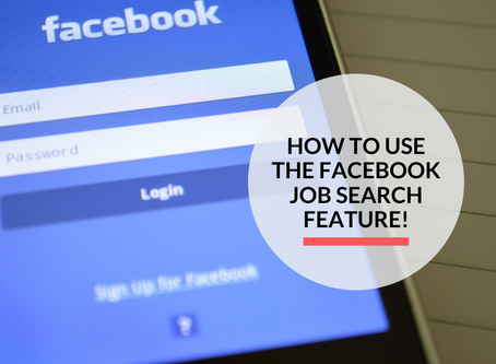 All you need to know about the Facebook Job Search Feature!