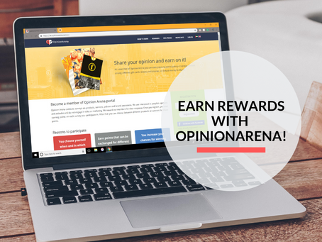 Earn rewards for your opinions with OpinionArena!