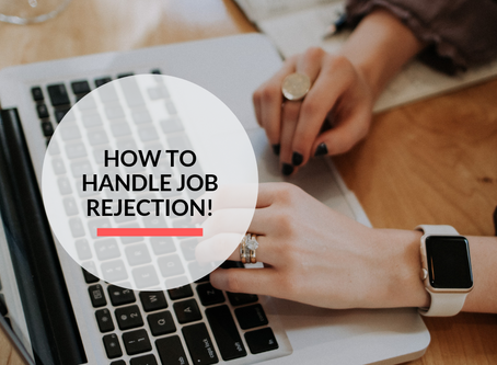 How to handle job rejection!