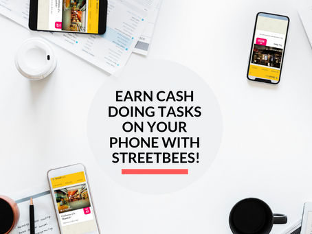 Make Money from your Smartphone with Streetbees!