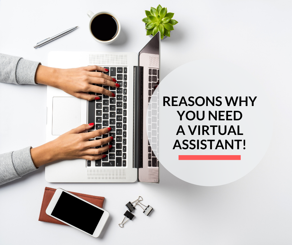 A virtual assistant helping a business in the completion of their tasks.