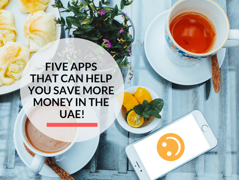 Top 5 Apps that can help you save more in the UAE.