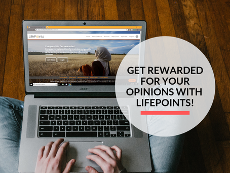Get rewarded via PayPal with LifePoints!