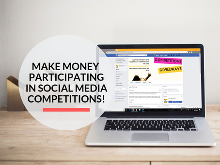 How to make money participating in Competitions over Social Media?