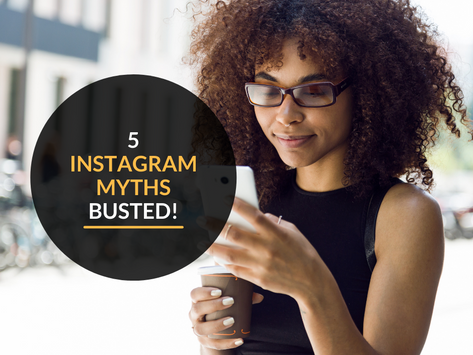5 common Instagram Myths busted!