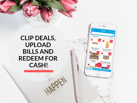 Get Cashback on your favorite Grocery Brands with ClipTheDeal!