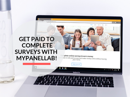 Get paid for your opinions, completing surveys with MyPanelLab!