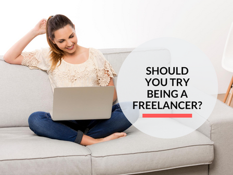 Should you try being a freelancer?