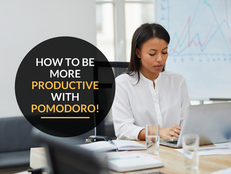 How to be more productive using the Pomodoro Technique!