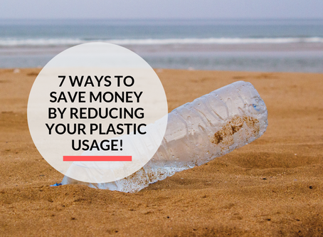 7 ways to Save Money by reducing your Plastic usage!