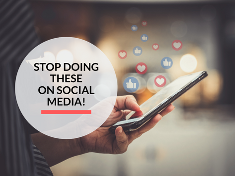 Stop committing these 7 sins on social media!