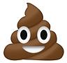 ice cream emoji; friendly smile, eyes